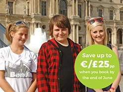 Book early & save £25pp / €25pp